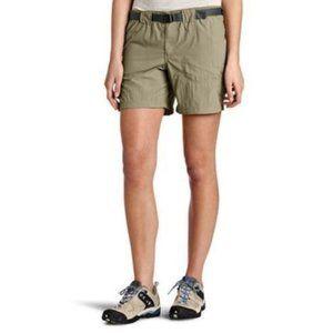 Columbia Womens Large Cargo Shorts w/ Belt NEW